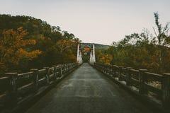 Puente de la caída Imágenes de archivo libres de regalías