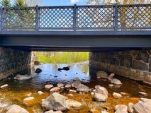 Puente de la cala fotografía de archivo libre de regalías
