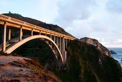 Puente de la cala de Bixby imagen de archivo