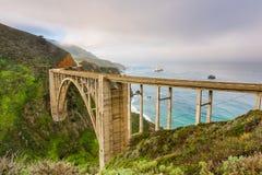 Puente de la cala de Bixby Fotografía de archivo