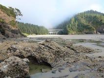 Puente de la cala del cabo jpg Foto de archivo libre de regalías