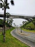Puente de la calle Fotografía de archivo libre de regalías