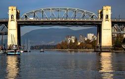 Puente de la calle de Burrard Foto de archivo