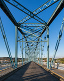 Puente de la calle de la nuez Imagenes de archivo