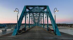 Puente de la calle de la nuez Foto de archivo libre de regalías