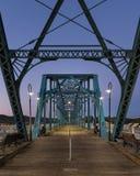 Puente de la calle de la nuez Imagen de archivo libre de regalías