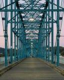 Puente de la calle de la nuez Fotos de archivo
