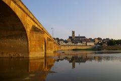 Puente de la ciudad foto de archivo libre de regalías