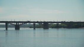 Puente de la ciudad almacen de metraje de vídeo