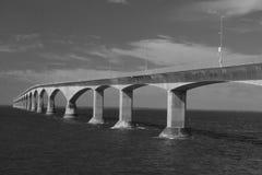 Puente de la confederación en Canadá Fotografía de archivo