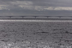 Puente de la confederación, Nuevo Brunswick a PEI Fotografía de archivo libre de regalías