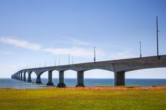 Puente de la confederación, PEI Canada Fotografía de archivo libre de regalías