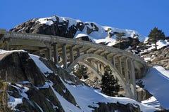 Puente de la cumbre de Donner Foto de archivo