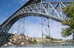 Puente de la D. Luis Imagen de archivo libre de regalías