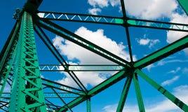 Puente de la estructura Foto de archivo