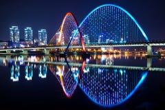 Puente de la expo en Daejeon, Corea foto de archivo