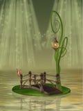 Puente de la fantasía stock de ilustración