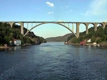 Puente de la frontera Fotos de archivo