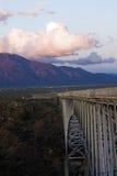 Puente de la garganta de Rio Grande Foto de archivo libre de regalías