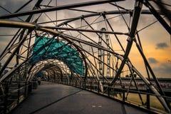 Puente de la hélice Imagen de archivo