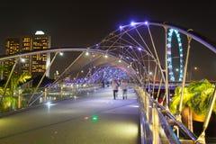 Puente de la hélice Foto de archivo libre de regalías