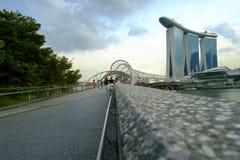 Puente de la hélice | Una imagen dice Fotos de archivo