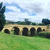 Puente de la historia Fotografía de archivo