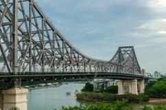 Puente de la historia, Brisbane Foto de archivo libre de regalías
