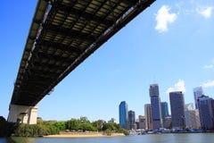Puente de la historia de Brisbane imagen de archivo libre de regalías