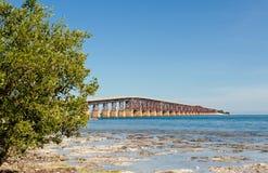 Puente de la isla de Key West fotografía de archivo libre de regalías