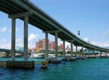 Puente de la isla del paraíso Fotografía de archivo
