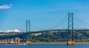 Puente de la isla de Orleans fotos de archivo