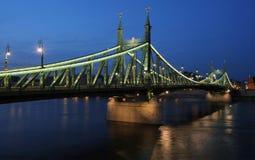 Puente de la libertad, Budapest Fotos de archivo
