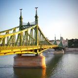 Puente de la libertad en Budapest Fotografía de archivo libre de regalías