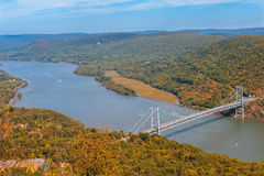 Puente de la montaña del oso Fotografía de archivo libre de regalías