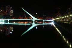 Puente de la Mujer Stock Photo