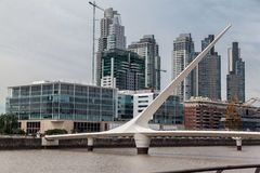 Puente de la Mujer Bridge Argentina Stock Photography