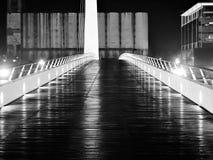 Puente de la Mujer, Buenos Aires, Argentinien Stockfotografie