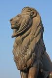 Puente de la nada del EL de Kasr del protector del león de El Cairo Fotos de archivo libres de regalías