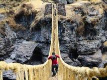 Puente de la paja Imagen de archivo