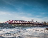 Puente de la paz fotografía de archivo libre de regalías