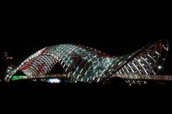 Puente de la paz, Tbilisi Fotografía de archivo