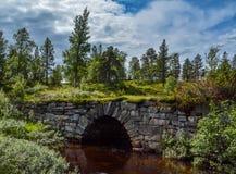 Puente de la piedra Imagen de archivo libre de regalías