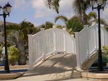Puente de la piscina Fotos de archivo