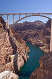 Puente de la presa de Hoover Foto de archivo libre de regalías