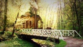 Puente de la primavera Fotografía de archivo