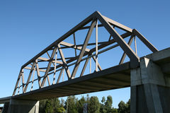 Puente de la Rectángulo-Viga fotos de archivo