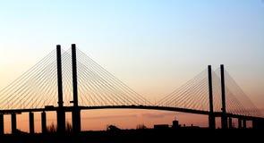 Puente de la reina Elizabeth 2. Fotografía de archivo libre de regalías