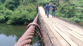 Puente de la secuencia Fotos de archivo