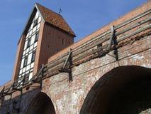 Puente de la seguridad de Riga Imagenes de archivo
